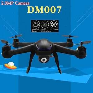 DM007 2.4G 4CH 6 Axis With 5MP Camera Headless Mode RC Quadcopter £29.82 @ BANGGOOD