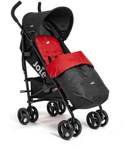Joie Nitro Buggy/ stroller Black and red with footmuff £49.99 @ Argos
