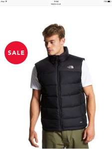North Face Nupste 2 Gilet 700 fill £84.15 @ Blacks