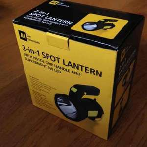 AA Car Essentials 2 in 1 Spot Lantern LED £9.99 in store at Esso service stations (MRH)