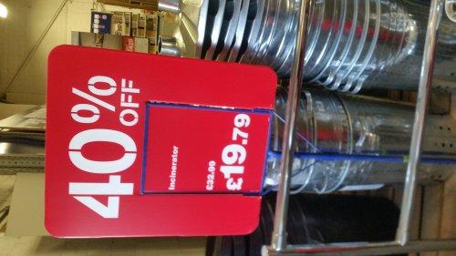 Galvanised Incinerator £19.79 in store @ Wickes