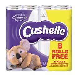 96 rolls Cushelle toilet roll (37.5p/roll) & free 32L samsonite cabin luggage (worth £60) £36 delivered @ Viking (& 17.17% tbc)