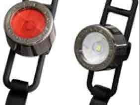 Front & rear led cycling light set £9.99 @ Tredz