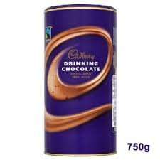 Cadbury Drinking Chocolate 750g £2.95 @ Farmfoods