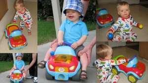 Bright Starts Ride On Car Having a Ball Pop & Roll Roadster was £40 now £24.00 @ Debenhams