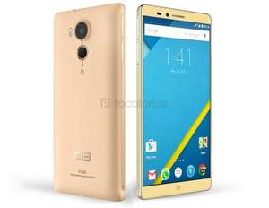 "Pre-sale Elephone Vowney 5.5"" 4G Smartphone IPS-LCD Capacitive 2560x1440 (2K) Android 5.1 Octa-core MTK6795 1.9GHz 4GB RAM & 32GB ROM 21MP (Golden) £194.84 @ Focal Price"