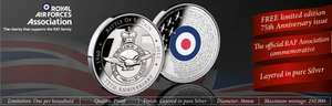 FREE Battle of Britain 75th Anniversary Commemorative + £2.50 Postage @ The London Mint Office