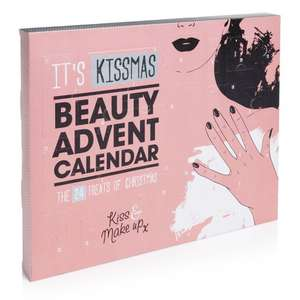 **BACK IN STOCK** BEAUTY ADVENT CALENDAR £5.00 WILKINSONS IDEAL FOR TEENS