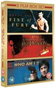 Fist of Fury/Legend of the Red Dragon/Who Am I? - DVD *New* £3.49 @ eBay / zoomonline