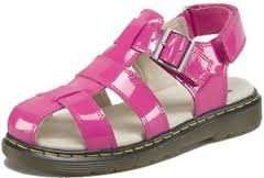 girls dr marten sandals pink or white £14.40 littlewoods
