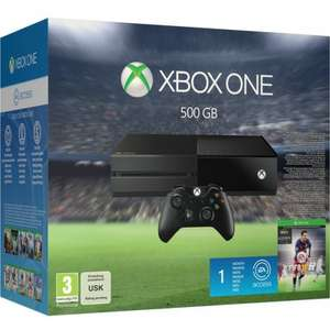 Xbox One 500GB with Fifa 16 + Preorder Game (Fallout 4, Star Wars: Battlefront and others) + 799 Clubcard Points @ Tesco -£299