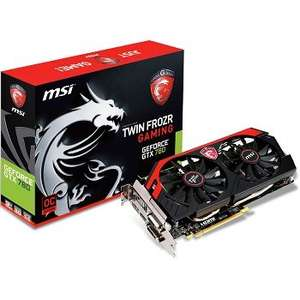 MSI Geforce GTX 780 Gaming Edition 3GB Graphics Card - £169.99 + £9.90 postage (£179.89) @ OcUK