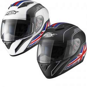 Shox Axxis Identity ACU Motorcycle Helmet now £39.99 Delivered @ Ghost Bikes