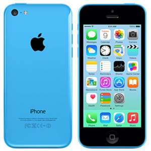 Trade in iPhone 5c blue 32gb unlocked for £210 @ gamexchange