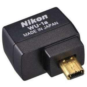 Nikon WU-1a Wireless Mobile Adapter £30.01 @ Amazon