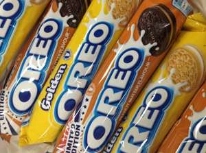 Oreo peanut butter 54p a pack at Tesco