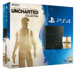 PS4 Uncharted Collection Console (500gb/C-Chassis) PLUS 3 Months PS+ - £284.99 With Code - Xtra Vision