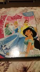 Disney princess busy book £3.99 @ Home Bargains