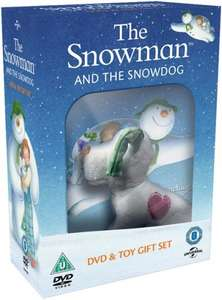 The Snowman and the Snowdog DVD gift set inc. Snowdog Toy £4 @ Zoom (using code)