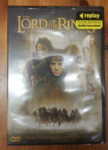 Lord of the Rings - The Fellowship of the Ring (Preowned & Refurbished) DVD £1 @ Poundland