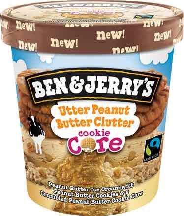 Ben n Jerrys: Utter Peanut Butter Clutter core - £1.25 @  Tesco Macclesfield