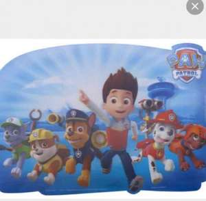 paw patrol place mat 99p @ Quality Save instore