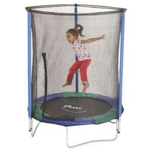 ** Plum My First Trampoline & Enclosure now £40 @ Tesco Direct (Free CnC) **