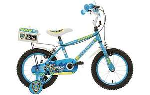 "Apollo Police Patrol Kids' Bike - 14"" now £62.99 using code at Halfords"
