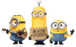 *** Minions ***    Movies For Juniors £1.58 @ Cineworld