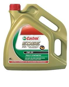 Castrol Edge 5W-30 4L £9.50 @ tesco