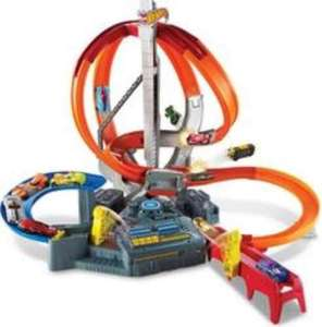 Hot Wheels Spin Storm Trackset @ George Asda £24.97 (was £ 49.97) Free CnC