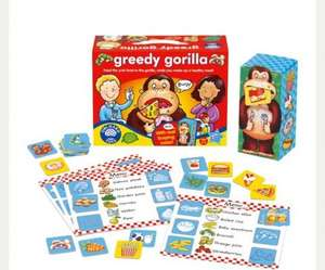 Orchard toys greedy gorilla game £2.88 tesco St. Helens