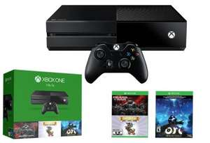 Xbox One 1TB Holiday Bundle (Gears of War: Ultimate Edition / Rare Replay / Ori and the Blind Forest) - £298.01 - Amazon.es