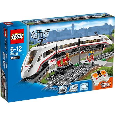 LEGO City - High-speed Passenger Train - 60051 £69.97 @ Asda