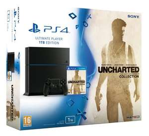 Sony PlayStation 4 1TB Console (C-Chassis) with Uncharted: The Nathan Drake Collection + Evolve + £20 Argos vouchers £329.99 @ Argos