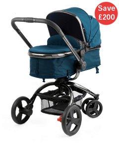 Mothercare orb Pram in Teal £200 half price!!
