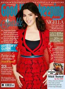£15 off £30 Spend Molton Brown in Good Housekeeping November Issue only £2.99 in Sainsbury. £4,sh elsewhere.