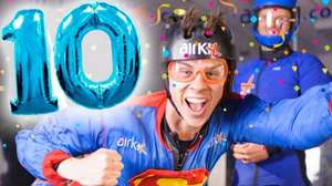 Airkix - Two in-door skydiving flights for £10 (limited offer)