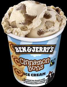 Ben & Jerry's Ice Creams - Various £2.16 @ Morrisons inc new Cinnamon Buns Flavour!