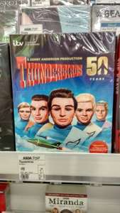 ASDA Thunderbirds 50 years 10 Disc DVD £15 @ Asda Instore