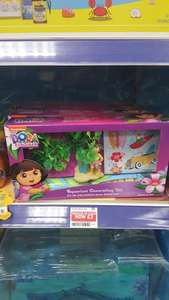 Dora Explorer fishtank accessories was £14 reduced to £3 @ pets at home Blackpool