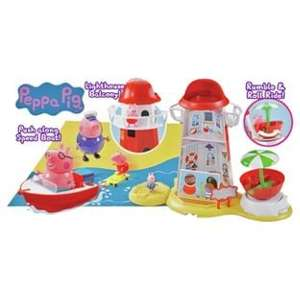 Peppa Pig Lighthouse Mega Set £19.99 C&C down from £59.99 @ Argos