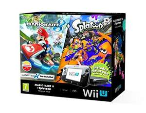 Nintendo Wii U 32GB Mario Kart 8 and Splatoon Premium Pack - Black £258.75 @ Amazon