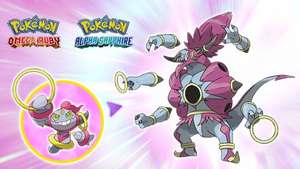 Free Hoopa code at Game until Nov 5th - Pokemon ORAS/X/Y event
