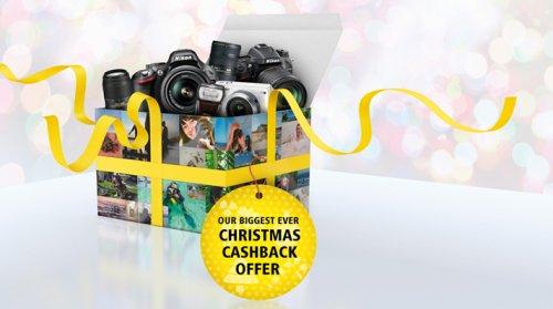 Nikon Xmas promo money off selected dslr camera and flash