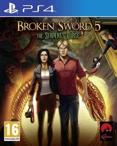 Broken Sword 5: The Serpents Curse (PS4) £13.95 @ The Game Collection