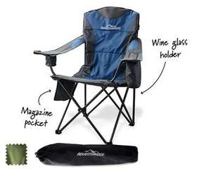 Deluxe Camping Chairs Reduced £7.99 at ALDI