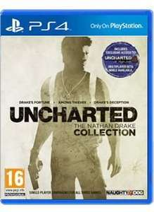 [PS4] Uncharted - The Nathan Drake Collection - £32.99 - Simply Games