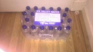 24 bottles of water free at booker  - Cheltenham