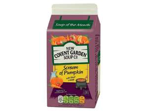 NEW COVENT GARDEN Scream of Pumpkin Soup (600g) ONLY 99p @ Lidl